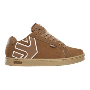 Etnies Skateboard Shoes Fader Brown/Beige/Gum Mens