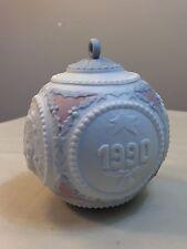 Lladro 1990 Christmas Bulb / Ornament Porcelain Made in Spain ~ Model #5730