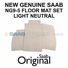 NEW SAAB 9-5 Floor Mat Set - Light Neutral NG9-5 2010-2011 13301965 Genuine OEM