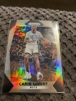 2017-18 Panini Prizm CARIS LEVERT Rare SILVER REFRACTOR #157 Brooklyn Nets SP