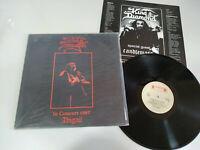 """KING DIAMOND IN CONCERT 1987 ABIGAIL LP 12"""" VINYL VINILO ROADRUNNER HOLLAND EDIT"""