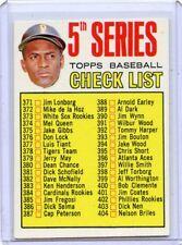 1967 TOPPS BASEBALL #361 5th SERIES CHECKLIST, SET BREAK,100917