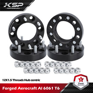 """KSP 4PC 1.25"""" 6x5.5 Wheel Spacers Hub Centric 6x139.7mm 106mm Fit for Tacoma FJ"""
