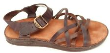 Chaco Womens Leather Casual Fallon Antique Finish Sandals Shoes US 7 EU 38