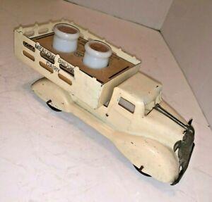 1930's Marx Meadow brook farm milk truck
