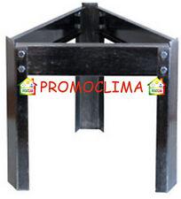 Treppiede contenitore olio Inox da 20 a 50 lt bidone fusto acciaio verniciato