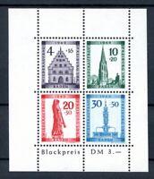 franz. Zone Baden MiNr. Block 1 A I postfrisch MNH (XXX