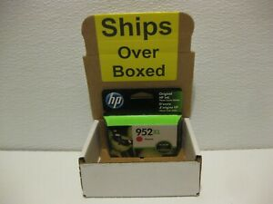 HP 952XL Magenta Ink Genuine New L0S64AN *** SHIPS OVERBOXED *** Date: July 2021