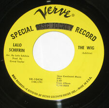 "Lalo Schifrin 7"" 45 DJ PROMO HEAR NORTHERN SOUL The Wig VERVE Beneath A Weeping"