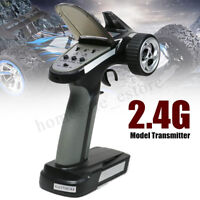 Popular 2.4G 2CH Radio Portable Model RC Transmitter + Receiver For RC Car Boa