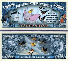 Dumbo - Disney's Flying Elephant Million Dollar Novelty Money