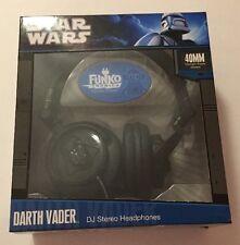 NEW Darth Vader DJ Stereo Headphones Funko Tronics Star Wars FunkoTronics