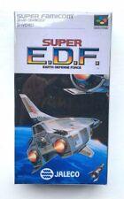 NINTENDO Super Famicom SFC - SUPER EDF - Replacement Case Box