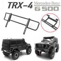 Steel Rail Rear & Front Bumper for Traxxas TRX-4 Mercedes-Benz TRX-6 G63 G500 RC