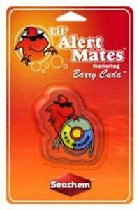 Seachem Lil Mate Barry Cuda 1YR Ammonia Alert Continuously Monitors Salt & Fresh