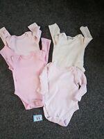 Baby Girls 3-6 Months Long Sleeve Vest Bundle