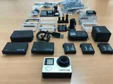 GoPro Hero 4 Black w/ lot accessories (Go Pro), waterproof case, remote con