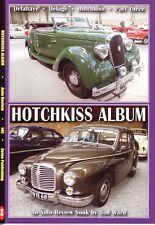 Book - Hotchkiss Album - Gregoire Amilcar Anjou Jeeps Trucks Tanks - Auto Review