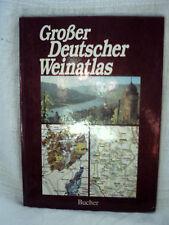 Großer Deutscher Weinatlas, 1982, Bucher Verlag