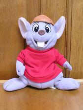"Disney The Rescuers Bernard Mouse Plush 7"""