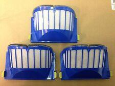 3 x OEM Roomba 500 Series Aero Vac Filter Blue 550 AeroVac 560 570 580 530 540