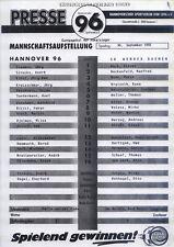 CWC - EC II 92/93 Hannover 96 - SV Werder Bremen (PI)