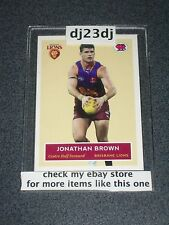 2009 SCANLENS CARD JONATHAN BROWN NO.016 OF 400
