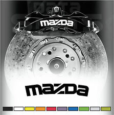 MAZDA Premium Brake Caliper Decals Stickers