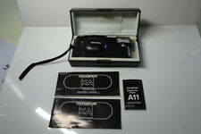 Olympus XA Rangefinder with A11 Flash Case Strap & Instructions Mint Condition