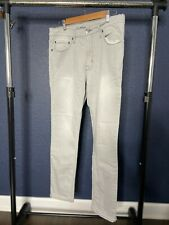 Goodfellow & Co. Mens Gray 33x30 Slim Straight Total Flex Pants Jeans Gently Pre