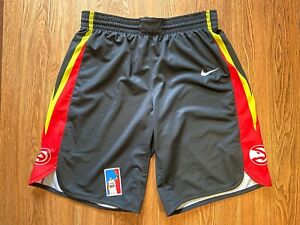 Atlanta Hawks 2019 Summer League Game Issued Worn Used NBA Shorts Nike size XL