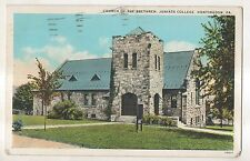 Church of the Brethren JUNIATA COLLEGE Huntingdon PA Pennsylvania Postcard