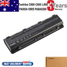 Laptop Battery for TOSHIBA Satellite PA5024U-1BRS PABAS260 C850 L800 C870