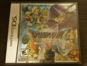 Dragon Quest V: Hand of the Heavenly Bride - Nintendo DS - New & Sealed