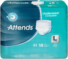 """Attends Complete Underwear Large (44""""-58"""") Case of 72 - APP0730"""