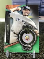 2018 Tribute Stamp Of Approval Mariano Rivera Game Used Jersey Patch SSP /99!!!