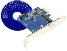 PCI-E to mSATA SSD+SATA3 Combo Expansion Converter Adapter PCIe to SATAIII Card