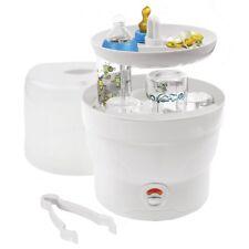 Baby Bottle Steriliser for 6 Bottles in White H + H BS 29w