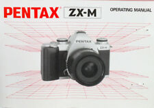 200880 PENTAX ZX-M GENUINE CAMERA INSTRUCTION MANUAL