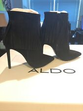 Women's Aldo Black Cirede Bootie Size 6