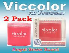 2Pack Diax Viccolor ANGEL SNOW Air Freshener (amber & Vanilla) scent