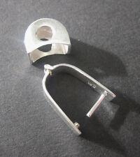 Wechselbogen klein - Tauschsystem für frontgebohrte Edelsteine - 925 Silber