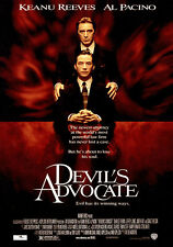 THE DEVIL'S ADVOCATE (1997) ORIGINAL MOVIE POSTER  -  ROLLED  -  DOUBLE-SIDED