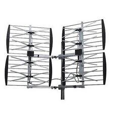 STELLAR LABS 30-2431 UHF/HDTV 80 Mile Deep Fringe Bowtie Television Antenna