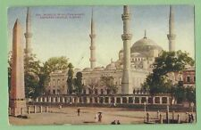 Vintage Postcard 122. Mosque of Sultan Ahmid, Constantinople, Turkey