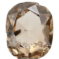 Natural Loose Diamond Oval I1 Clarity Dark Brown Color 3.70MM 0.14Ct KR658