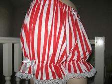 Striped Cotton Mid Rise Shorts for Women