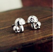 Ohrstecker Ohrring Pilz aus Sterling Silber 925