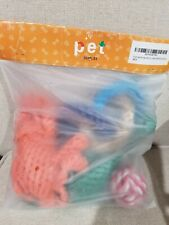 Dog Toys lot Ball Interactive Tough Chew Play for Aggressive Chewers pack 4