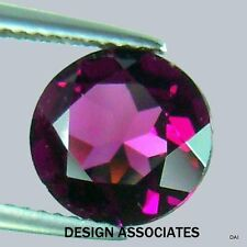 RHODOLITE GARNET 4 MM ROUND CUT ALL NATURAL